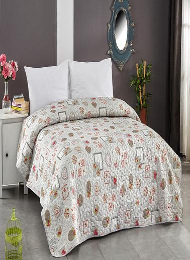 Komfort Home Tek Kişilik Çok Amaçlı Örtü - Pike 160x220 CM / V2 Renkli